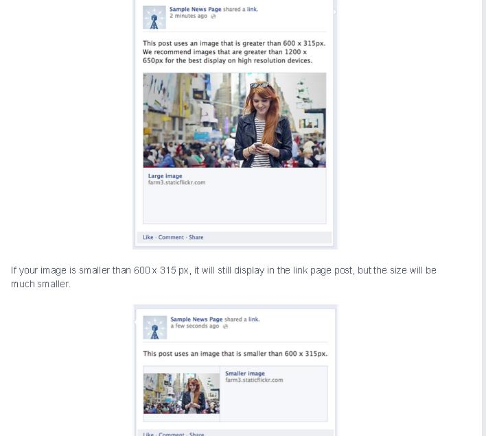 Facebook Open Graph : Display Images [Solved]