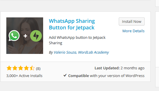 A WhatsApp plugin for WordPress