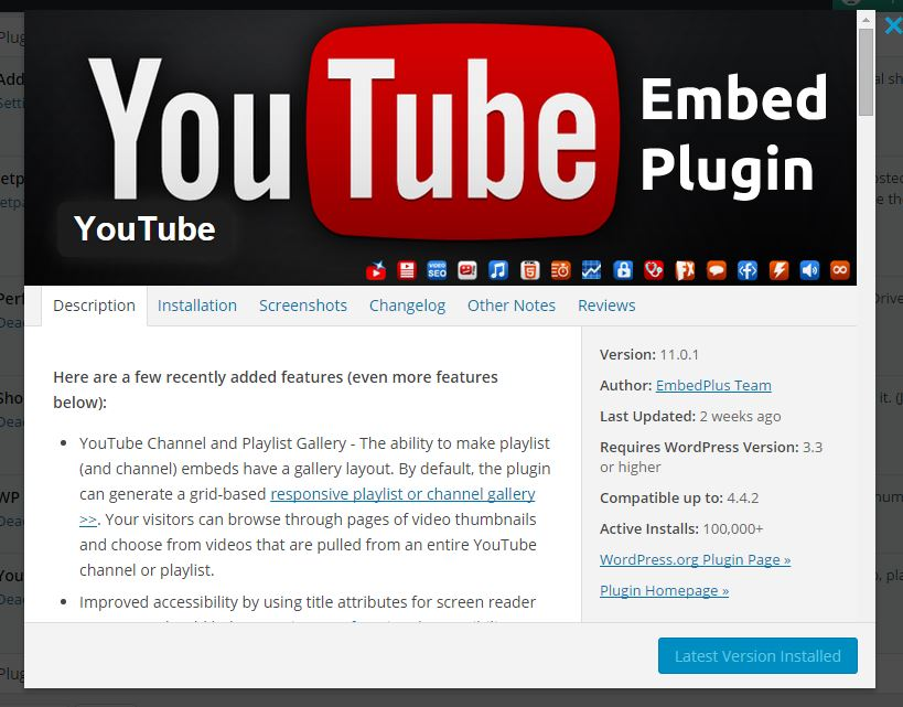 youtubeplugin