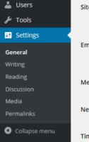 Essential WordPress Settings for a new site