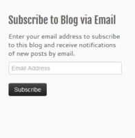 Follow Button for your WordPress site - start blog writing