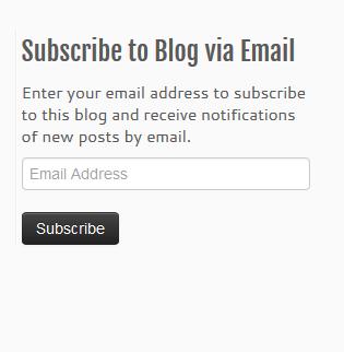 Follow Button for your WordPress site - start blog writing