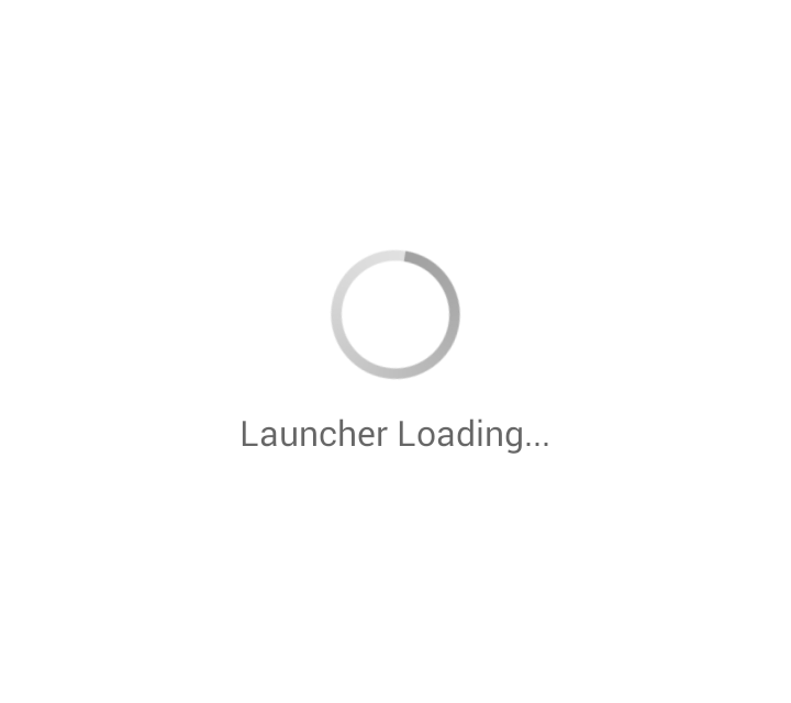 Launcher Loading problem in Android
