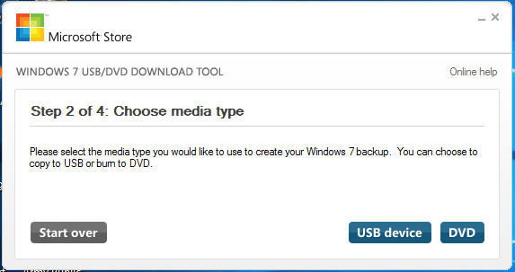 Windows CD/DVD Download Tool