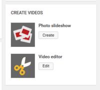 How to post photos on YouTube : Photo Slideshow - start blog writing