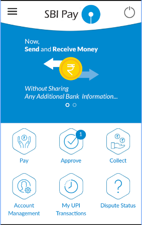 SBI pay interface