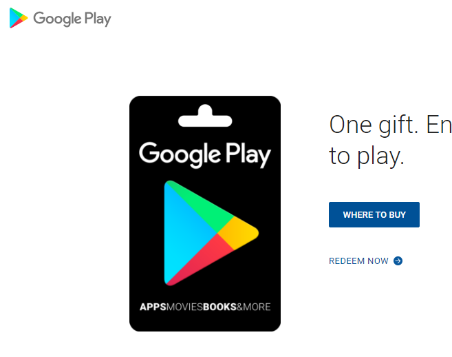 Generate Google Play Store Gift Cards online with paytm