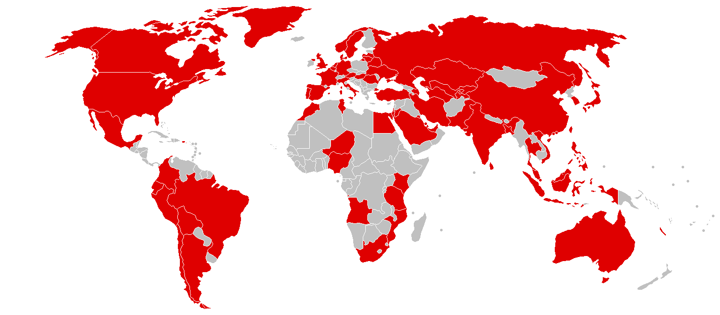 countries affected by wannacry attack