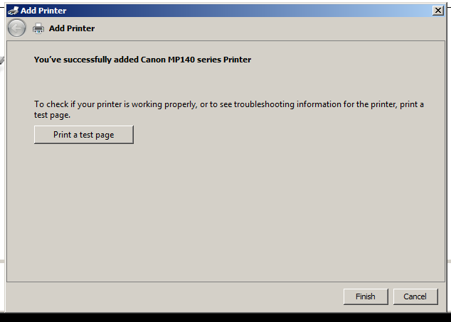 add network printer