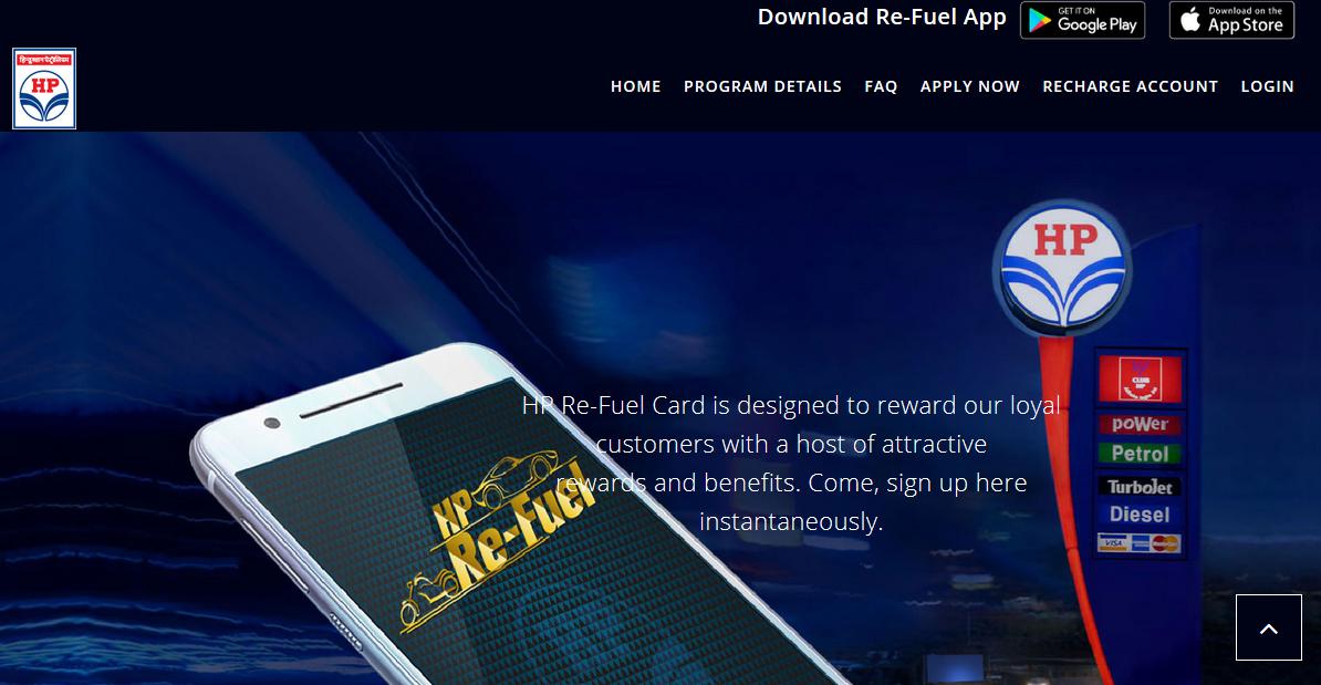 HP Re-Fuel App